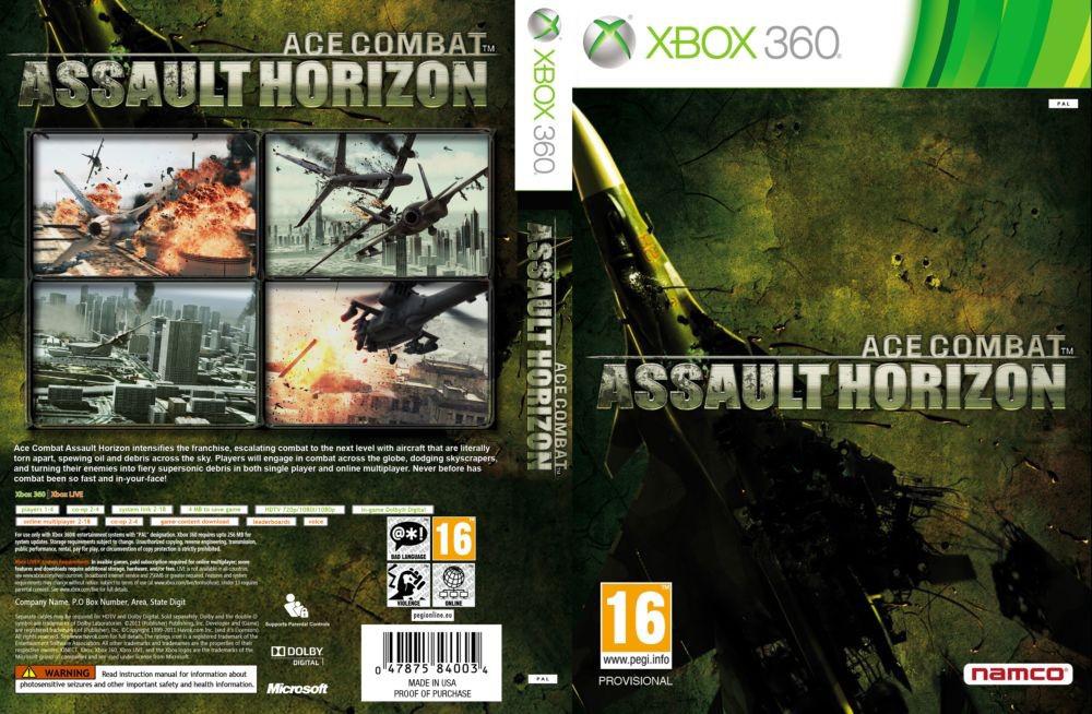 Ace Combat: Assault Horizon (русская версия)