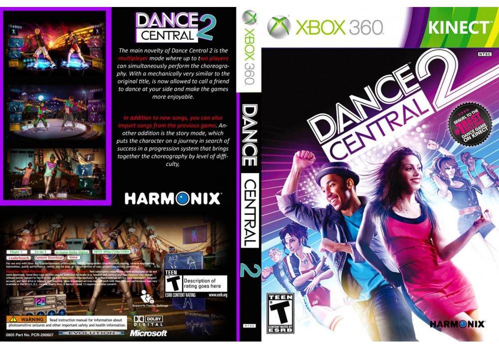Dance Central 2 [Kinect] (русский текст и звук)