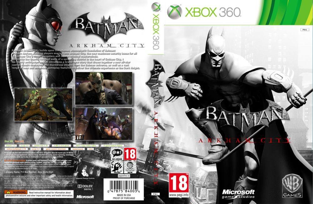 Batman: Arkham City (русский текст)