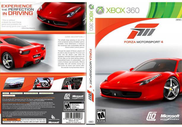 Forza Motorsport 4 (русский текст и звук, только основной диск), фото 2