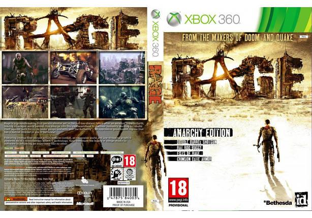 RAGE (2 диска + 1 мультиплеерный, русский звук и текст), фото 2