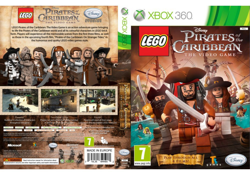 LEGO Pirates of the Caribbean: The Video Game (русская версия)