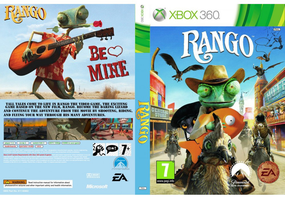 Rango: the Video Game (русская версия)
