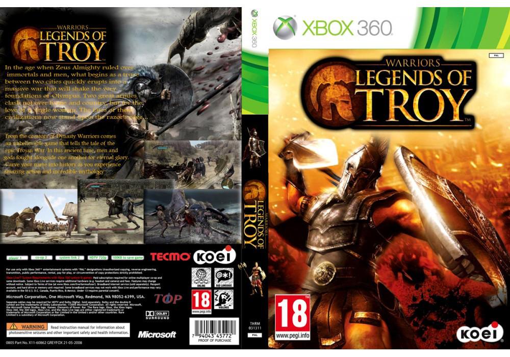 Warriors: Legends of Troy (русская версия)