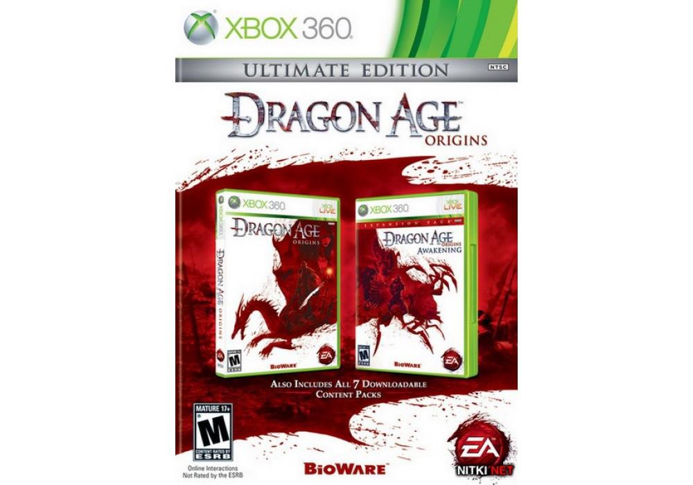 Dragon Age: Ultimate Edition (некоторые DLC на русском языке. Необходим оригинальный Dragon Age)