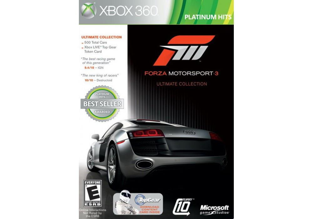 Forza Motorsport 3 Ultimate Collection (оф. русский текст, полная версия 2 диска)