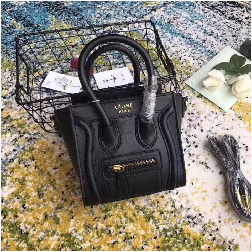 9724d7192aff Сумка Селин Boston, натуральная кожа, цвет черный, цена 3 108 грн., купить  Одеса — Prom.ua (ID#701876834)