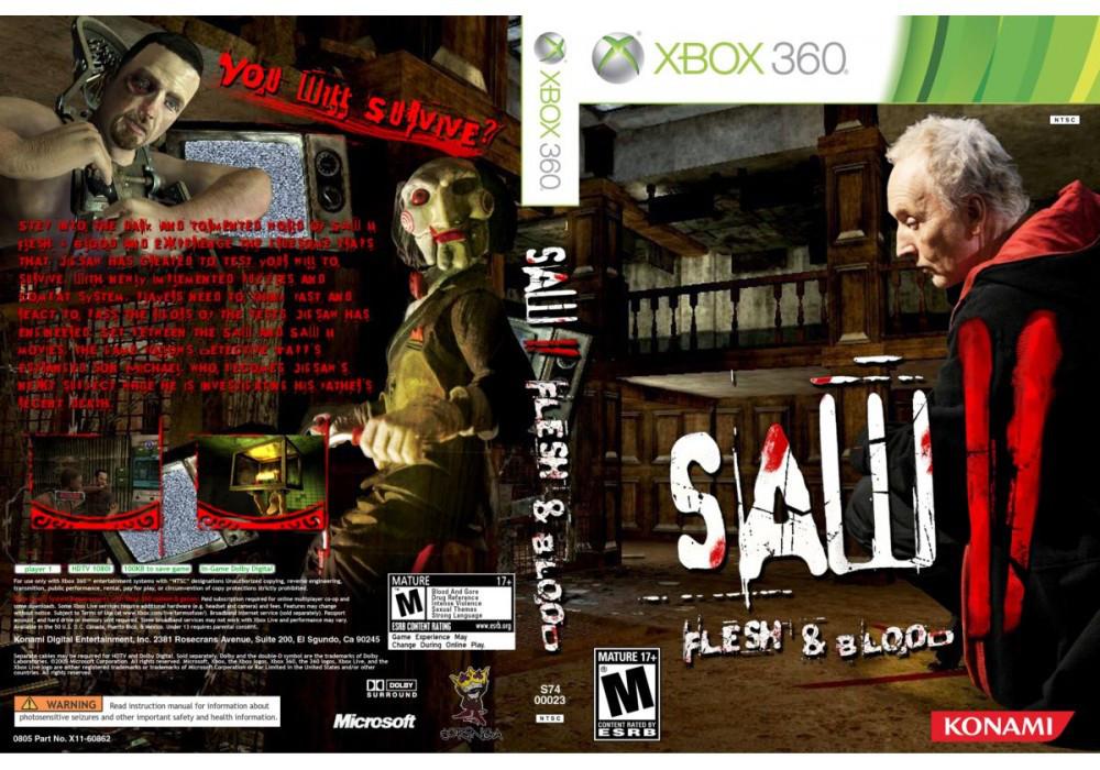 Saw II: Flesh & Blood (русская версия)