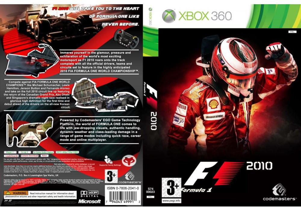 F1 2010 (оф. русский звук и текст)