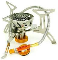 Газова пальник Tramp TRG-047 зі шлангом, п'єзопідпалом і вітрозахистом