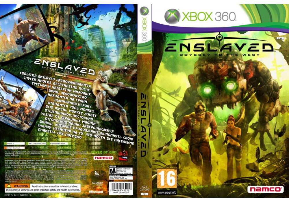 Enslaved: Odyssey to the West (русская версия)