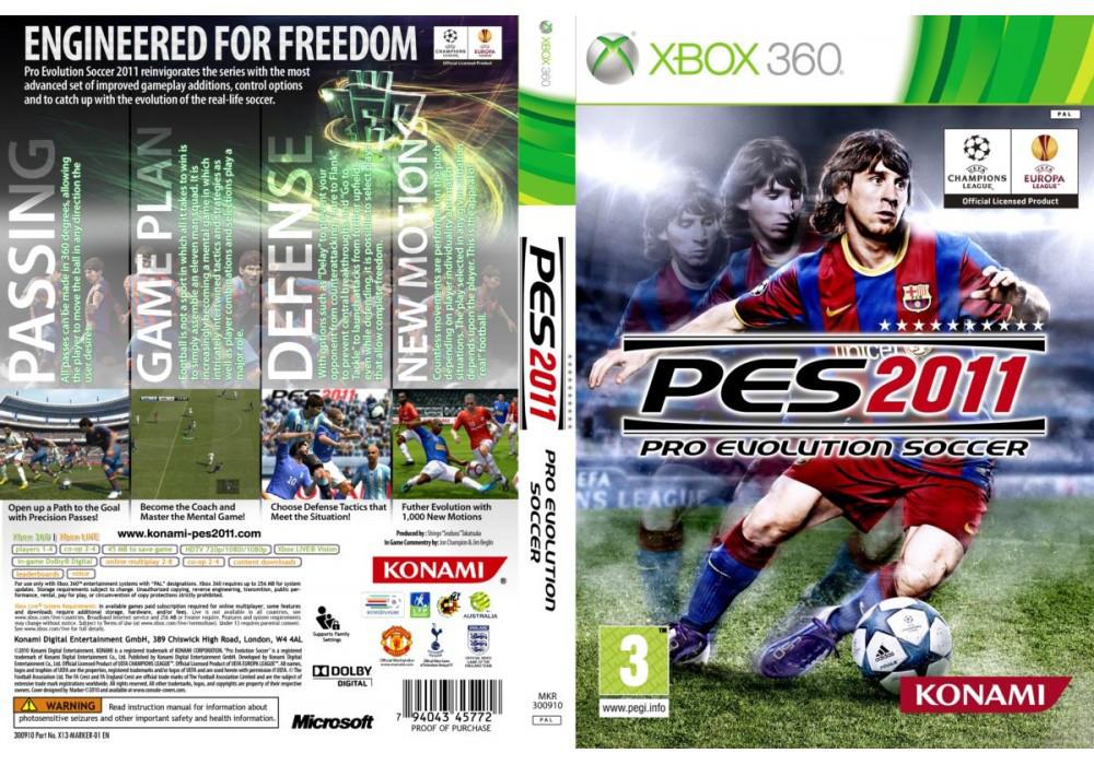 Pro Evolution Soccer 2011 (русский текст)