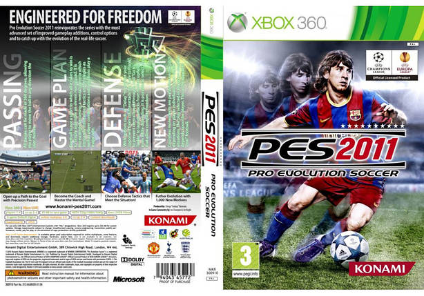 Pro Evolution Soccer 2011 (русский текст), фото 2