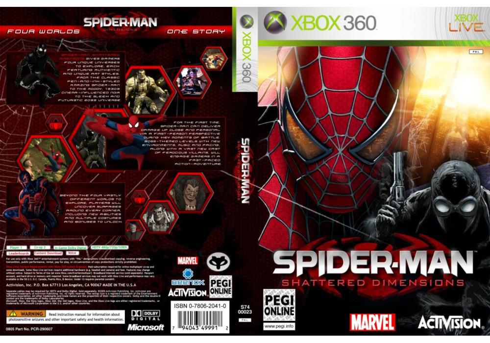 Spider-Man: Shattered Dimensions (русская версия)