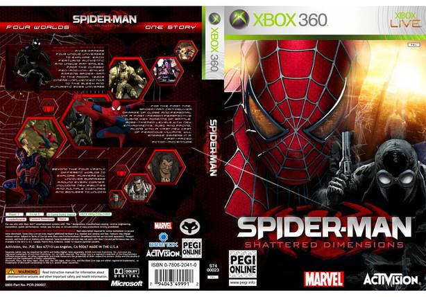 Spider-Man: Shattered Dimensions (русская версия), фото 2