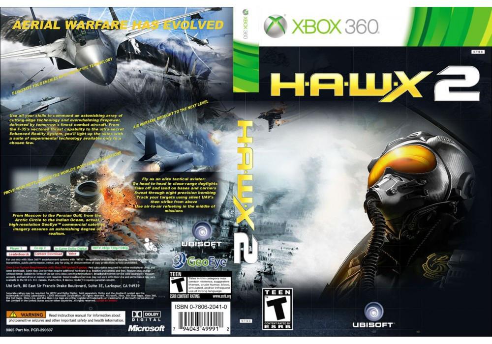 Tom Clancy's H.A.W.X. 2 (русская версия)