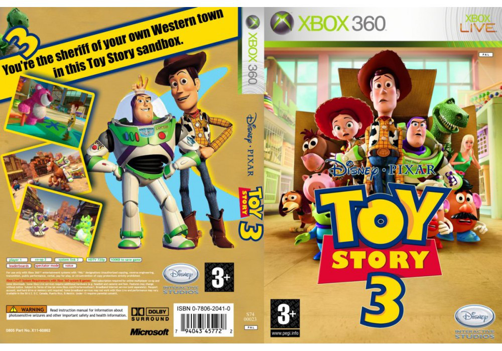 Toy Story 3: The Video Game (русская весия)