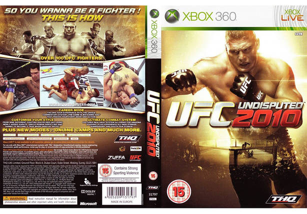 UFC Undisputed 2010 (русская версия), фото 2