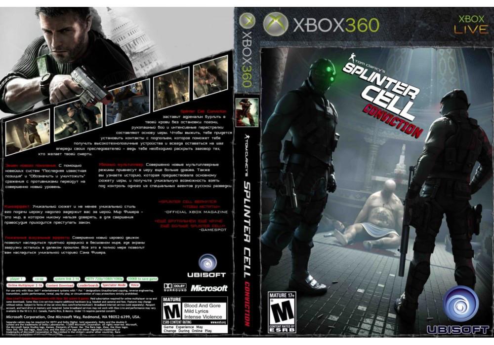 Tom Clancy`s Splinter Cell: Conviction (русская версия)