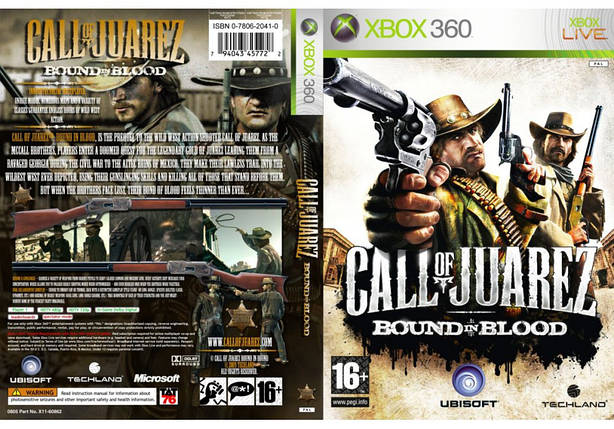 Call of Juarez: Bound in Blood (русский звук и текст), фото 2