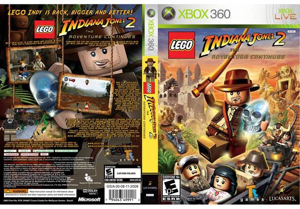 LEGO Indiana Jones 2 The Adventure Continues (русская версия), фото 2