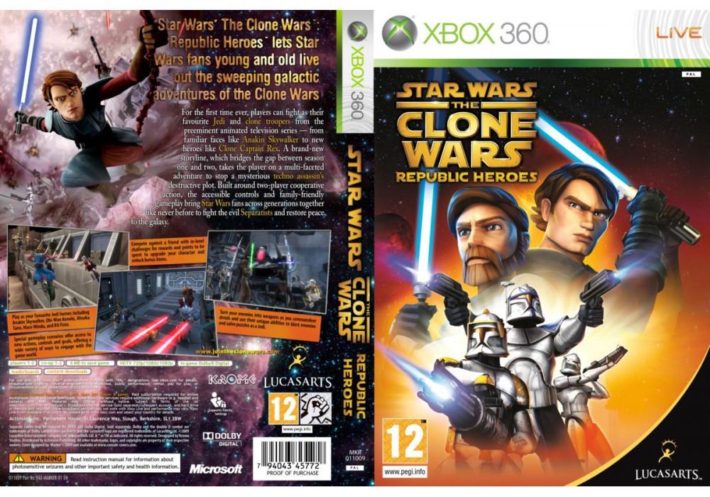 Star Wars The Clone Wars: Republic Heroes (русская версия)