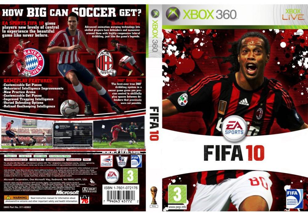 FIFA 10 (оф. русский звук и текст)