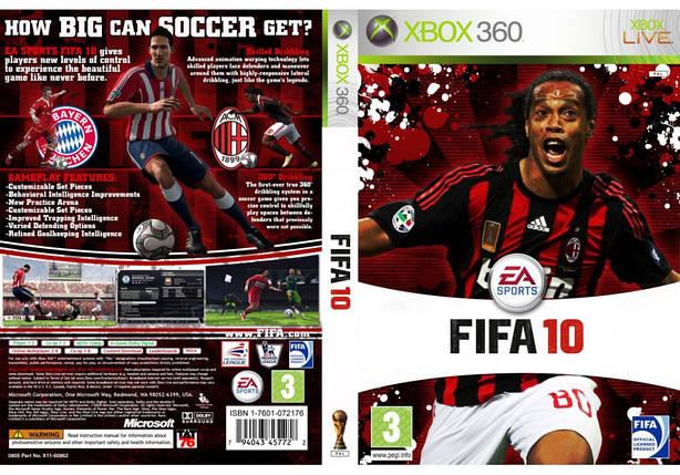 FIFA 10 (оф. русский звук и текст), фото 2