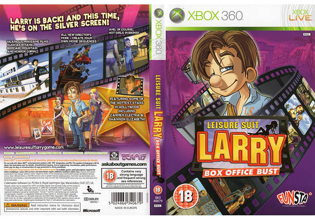 Leisure Suit Larry Box Office Bust (русская версия), фото 2