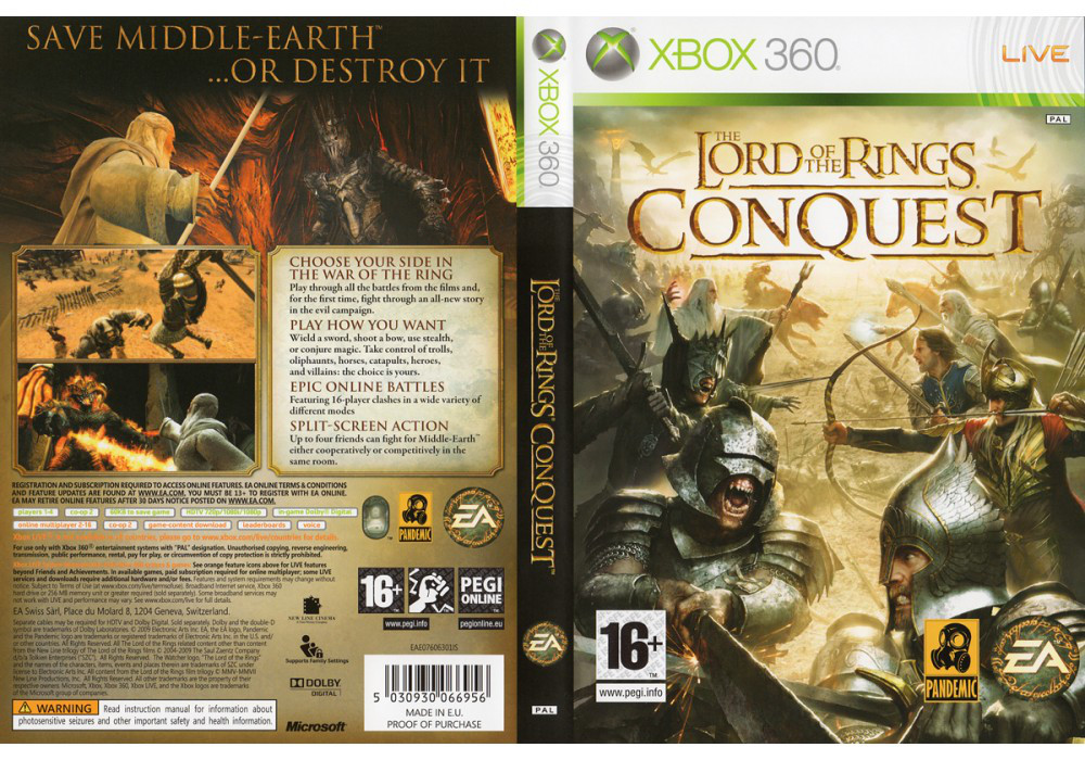 Lord of the Rings: Conquest (російська версія)