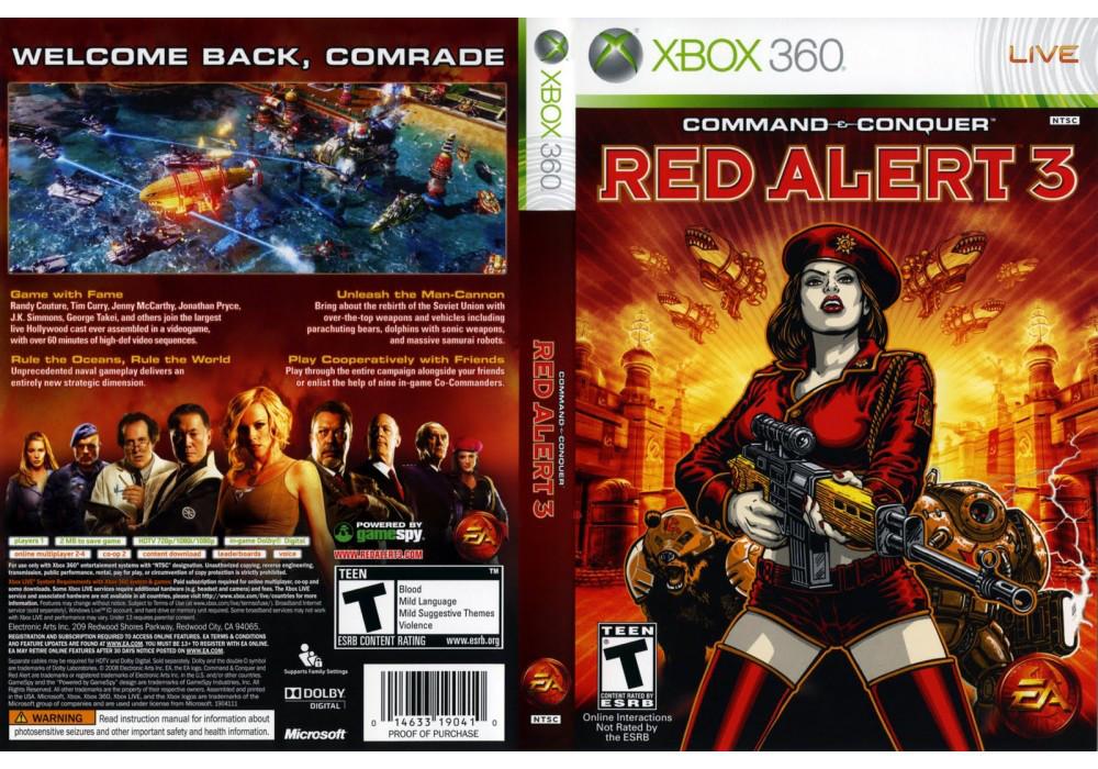 Command & Conquer: Red Alert 3 (оф. русский звук и текст)