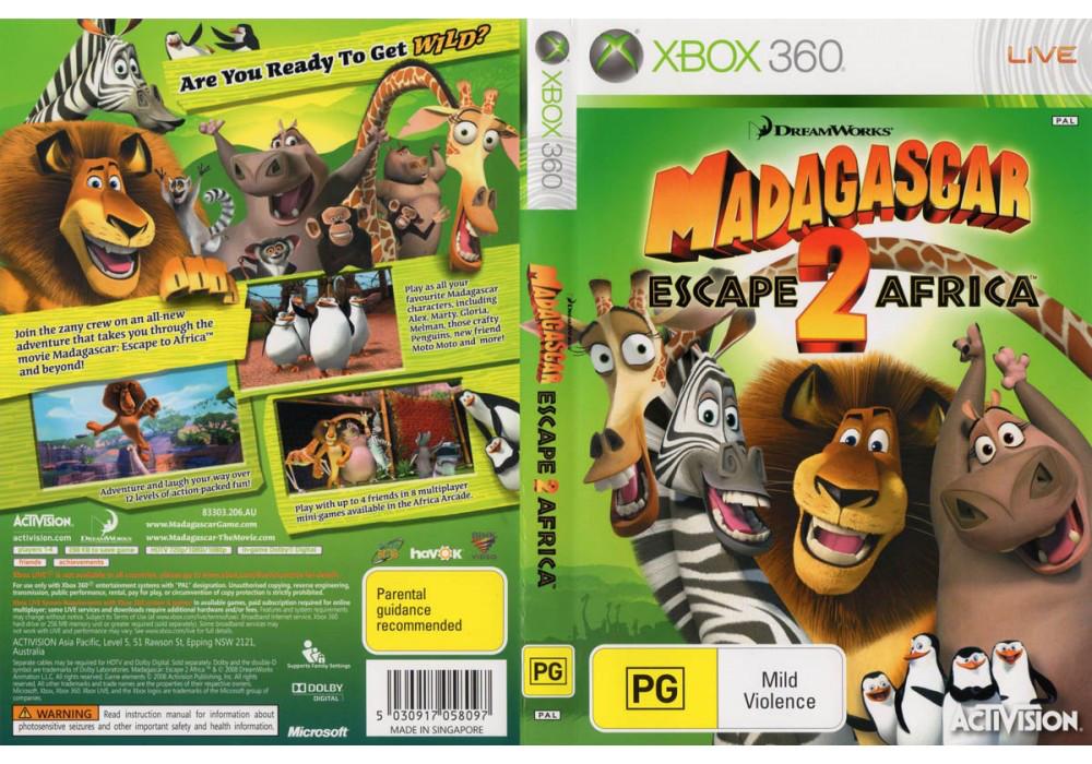 Madagascar: Escape 2 Africa (русская версия)