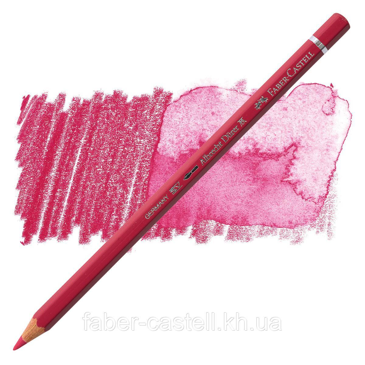 Карандаш акварельный цветной Faber-Castell Albrecht Dürer розово-карминовый (Pink Carmine)  № 127, 117627
