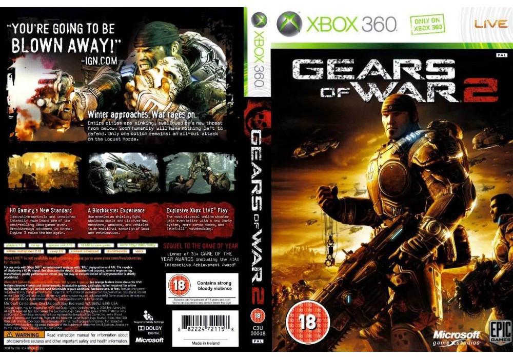 Gears of War 2 (оф. русский текст)