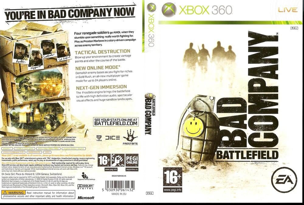 Battlefield: Bad Company (русская версия)
