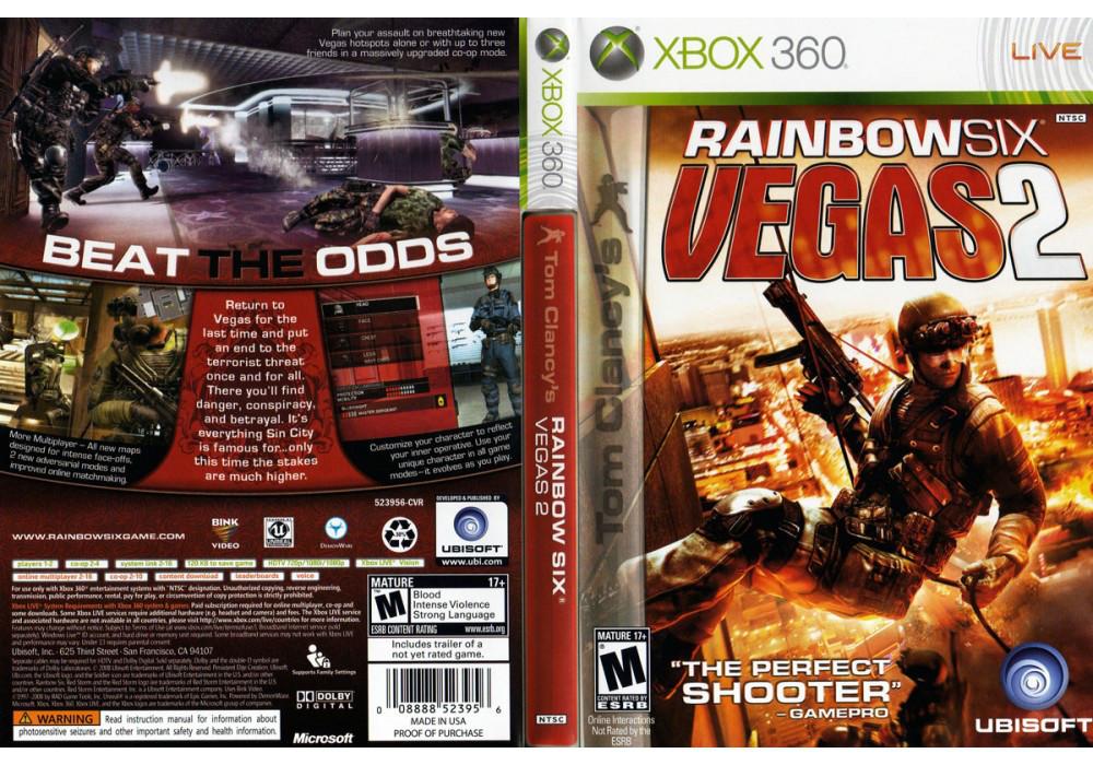 Tom Clancy's Rainbow Six: Vegas 2 (русская версия)