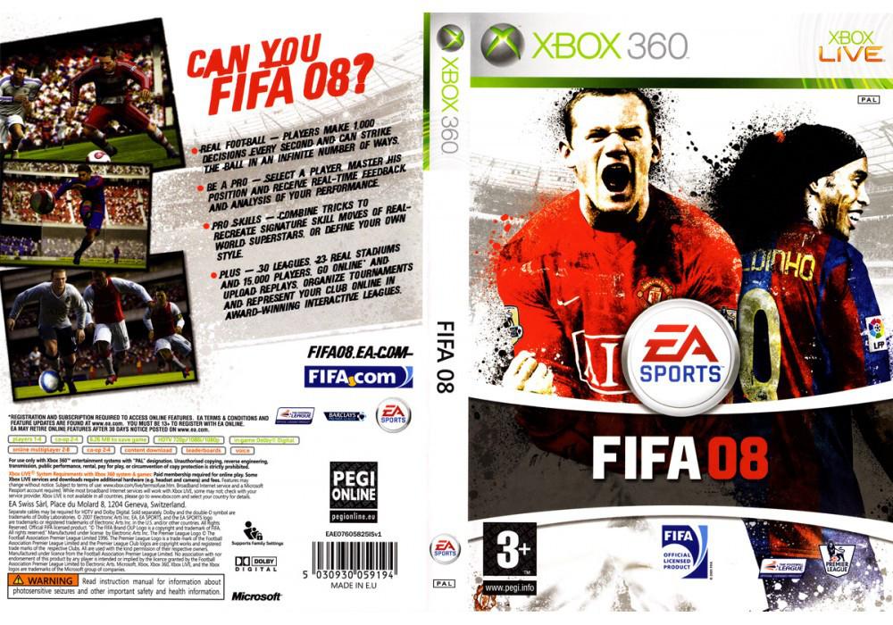 FIFA 08 (русская озвучка)