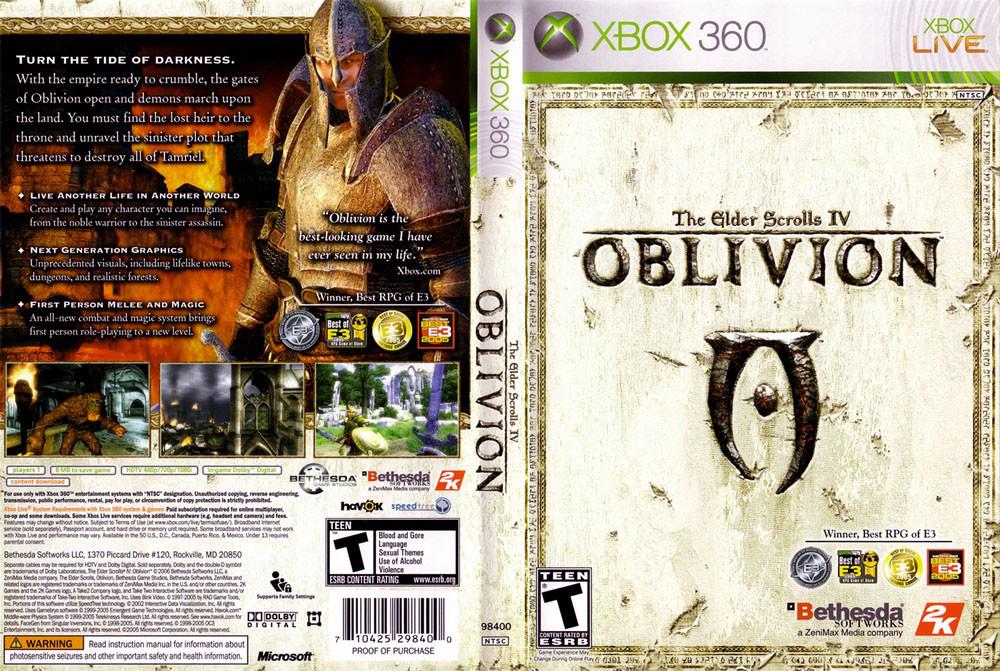 The Elder Scrolls IV: Oblivion (російська звук і текст)