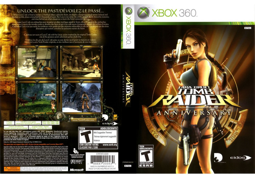 Tomb Raider: Anniversary (русская версия)
