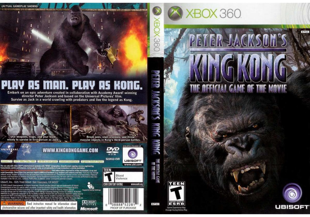 Peter Jacksons King Kong (русская версия)
