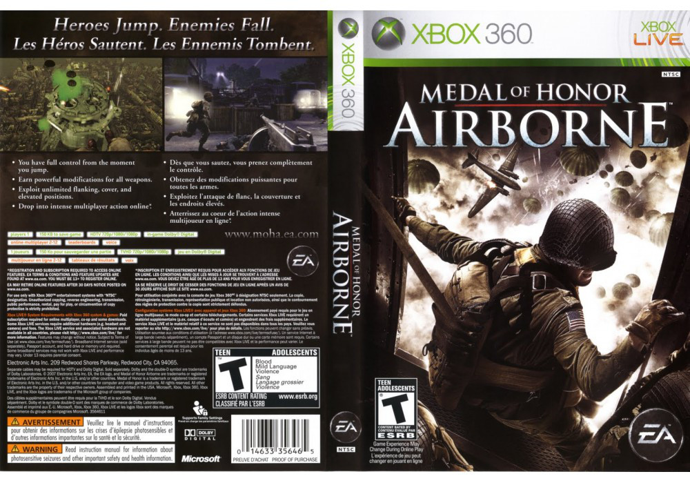 Medal of Honor: Airborne (русская версия)