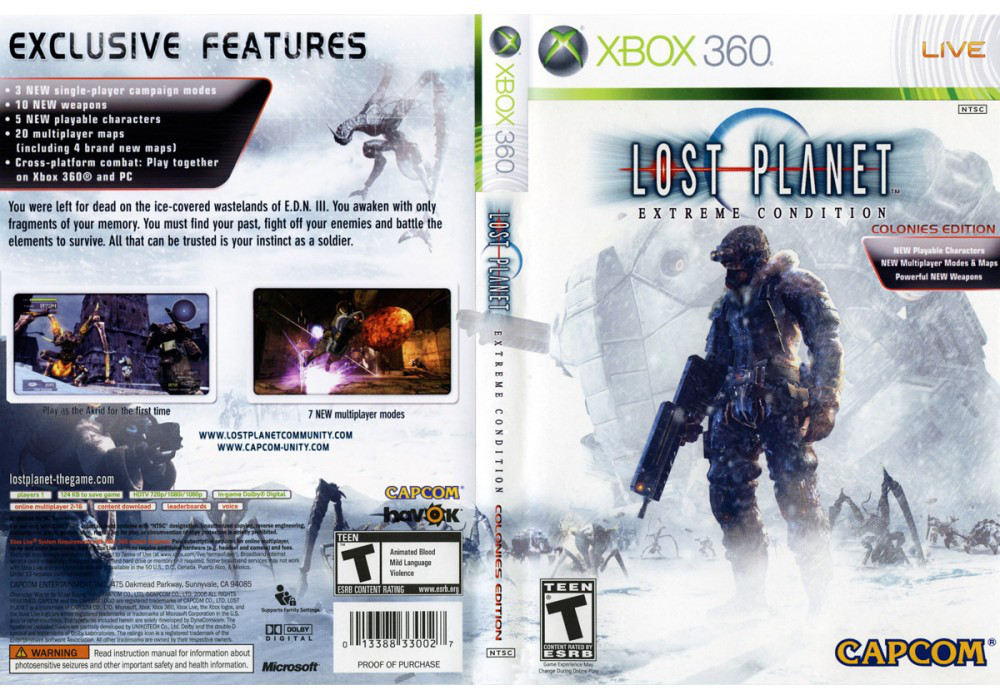 Lost Planet: Extreme Condition (русская версия)