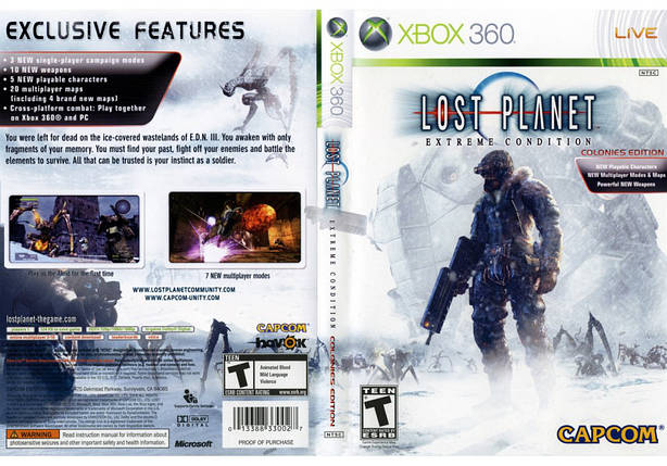 Lost Planet: Extreme Condition (русская версия), фото 2
