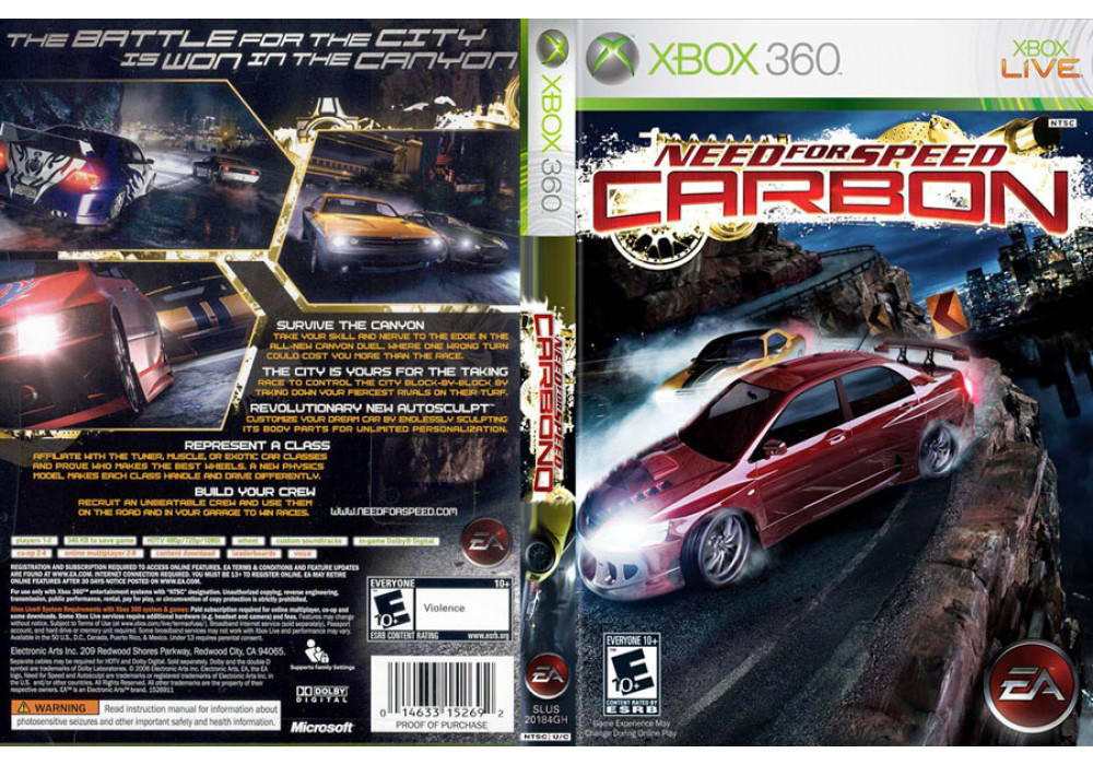 Need for Speed: Carbon (русская версия)