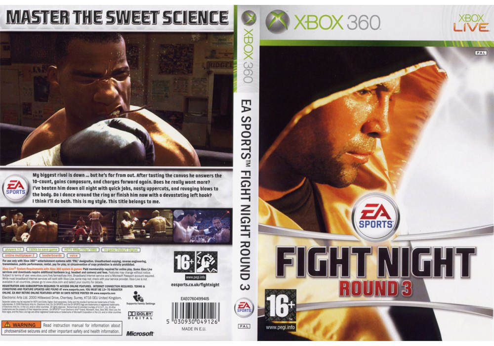 Fight Night Round 3 (русская версия)