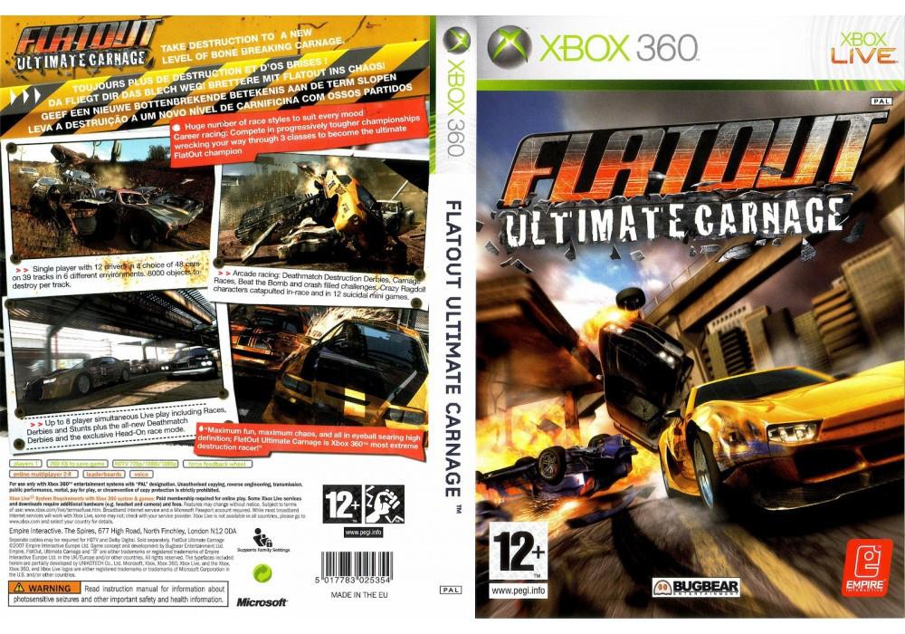 FlatOut: Ultimate Carnage (русская версия)