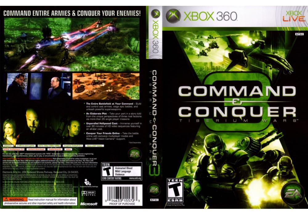 Command & Conquer 3: Tiberium Wars (русская версия)