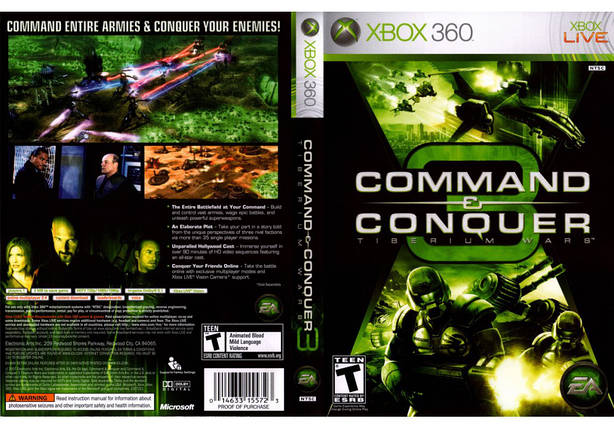 Command & Conquer 3: Tiberium Wars (русская версия), фото 2