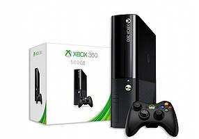 Игровая приставка Microsoft Xbox 360 E 500GB Slim (мод. FREEBOOT+ игры) + HDMI кабель