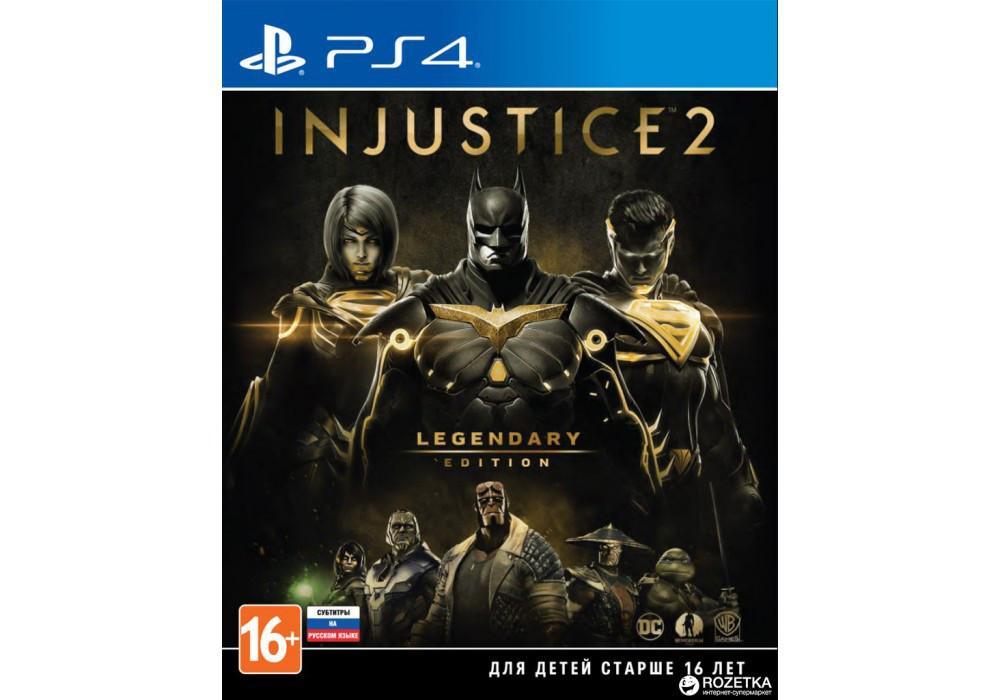 Игра для игровой консоли PlayStation 4, Injustice 2 - Legendary Edition